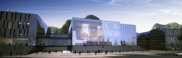 Cụm công trình Thư viện – Bảo tàng tỉnh Quảng Ninh