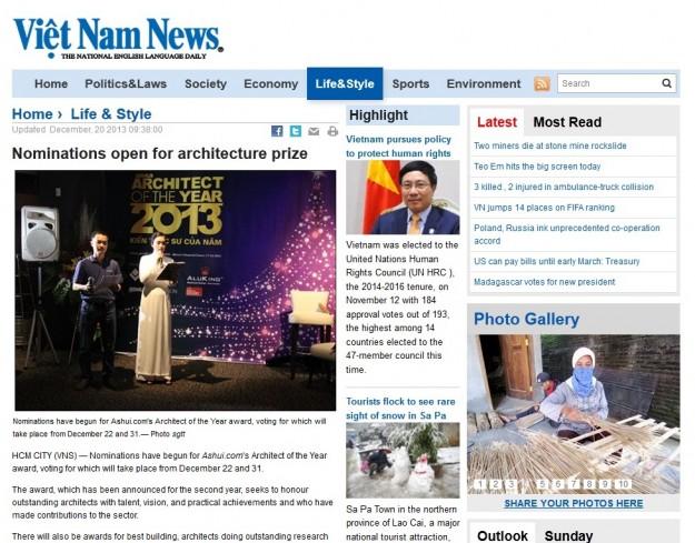 VietNamNews20131220