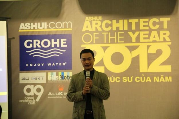 Ông Lê Việt Hà – chủ tịch Ashui.com, Trưởng ban Tổ chức giải thưởng.