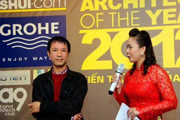 """KTS Hoàng Thúc Hào (giải """"Kiến trúc sư cộng đồng"""") chia sẻ.."""