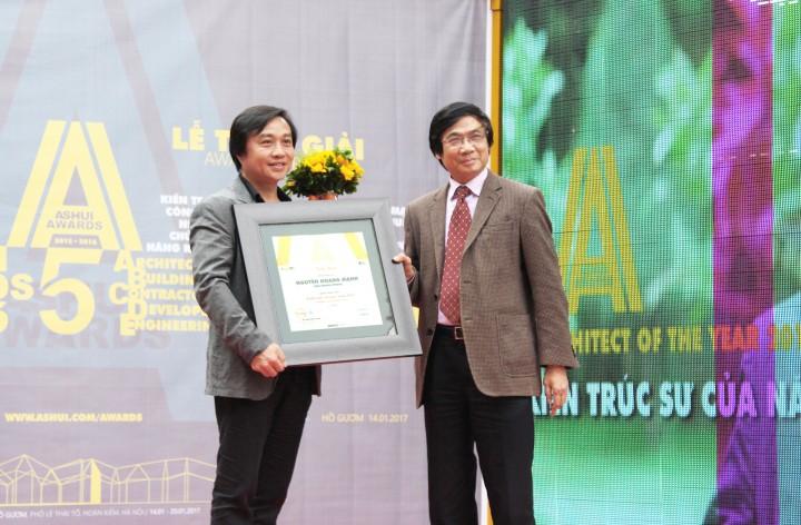 Kiến trúc sư của năm 2016: Nguyễn Hoàng Mạnh