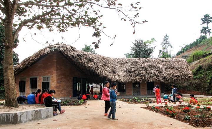 Công trình hai lớp học thân thiện môi trường tại Điểm trường Đao – Trường tiểu học số 2 xã Xuân Hòa, huyện Bảo Yên, Lào Cai