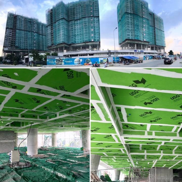 Ứng dụng cho khu vực trần bán hở tại dự án Lancer . Quy mô 5.000 m2