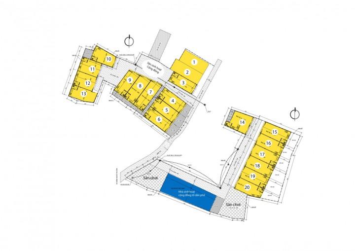Tổng mặt bằng quy hoạch và phương án kiến trúc được phê duyệt