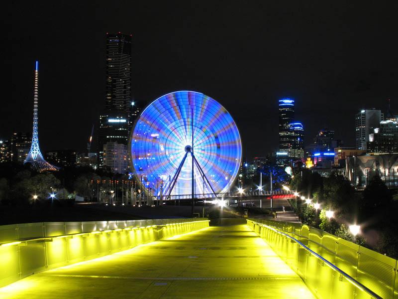 Chiếu sáng nơi công cộng - Melbourne, Úc