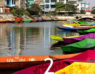 Dòng sông màu sắc