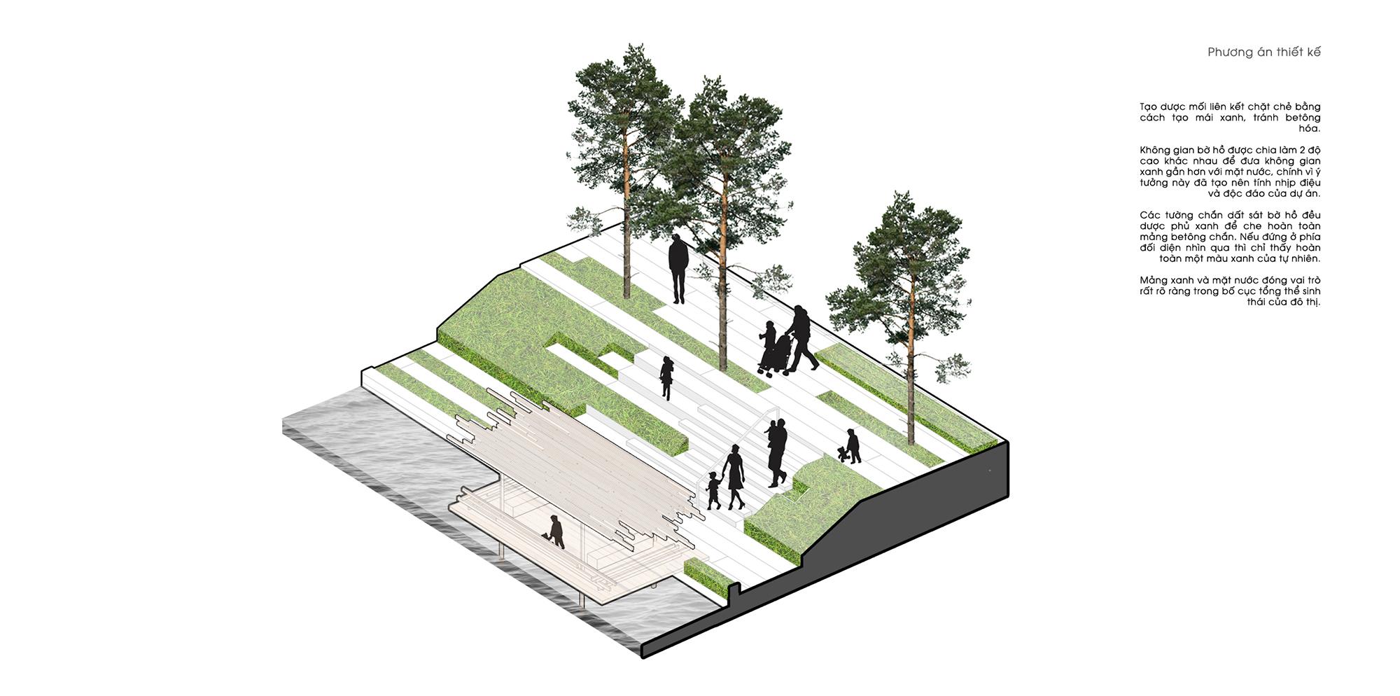 Cải tạo hồ sinh thái Đống Đa / MIA Design Studio 4