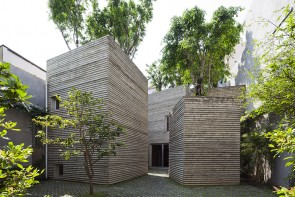 House for trees / thiết kế: Vo Trong Nghia Architects