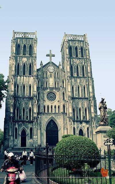 Kiến trúc Nhà thờ Lớn Hà Nội - ảnh 1