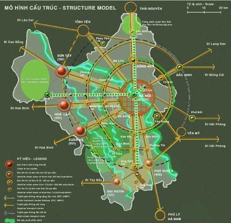 Các dự án bất động sản trên địa bàn Hà Nội mở rộng: Rà soát để tránh lãng phí