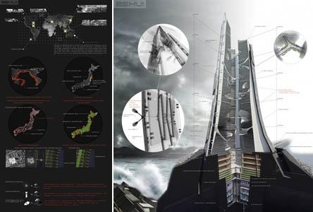 """Dự án """"Nhà chọc trời Citadel"""" của Nhật Bản"""