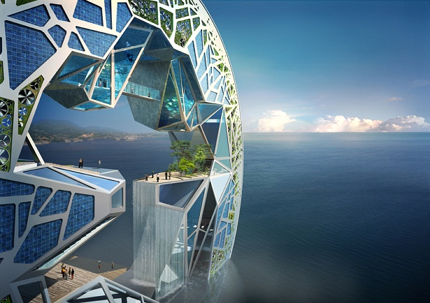 Ý tưởng dự án Ocean Imagination của công ty Unsangdong Architects
