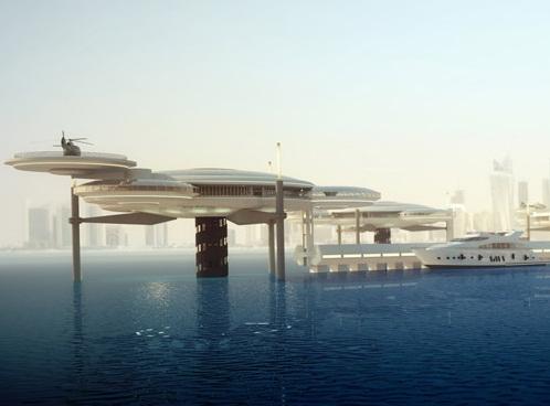 Water Discus – Khách sạn tàu vũ trụ nằm dưới… nước