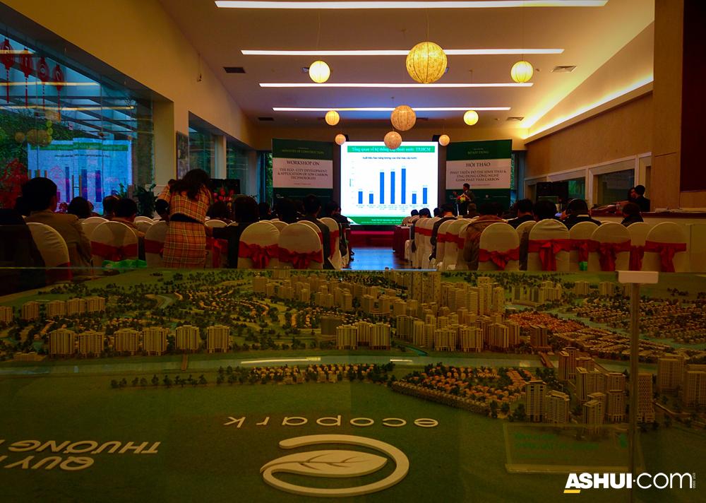 """Hội thảo """"Phát triển đô thị sinh thái và ứng dụng công nghệ giảm phát thải carbon"""""""