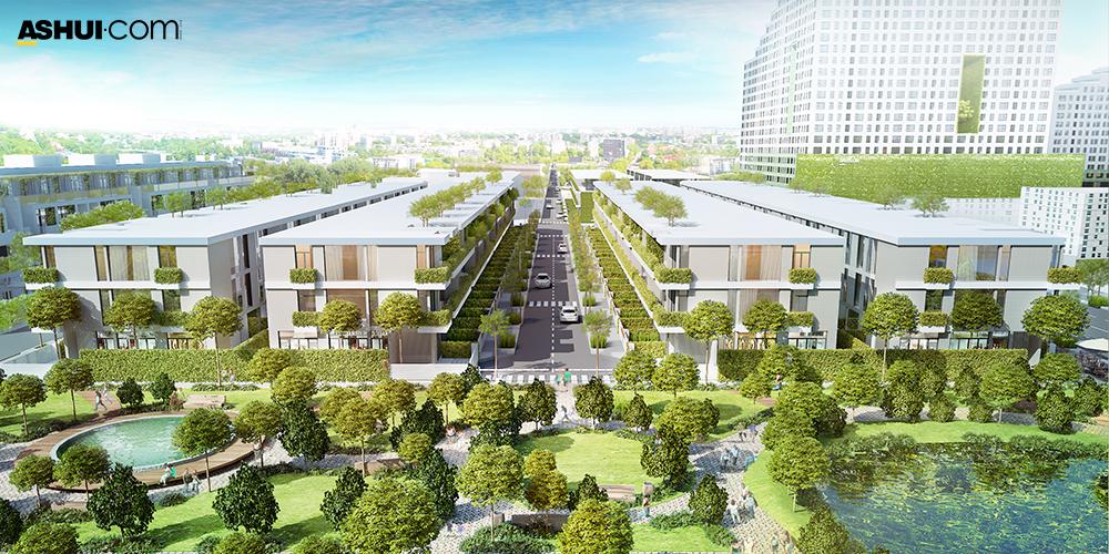 Kiến Á tung ra thị trường 39 căn nhà phố Citibella đẹp nhất