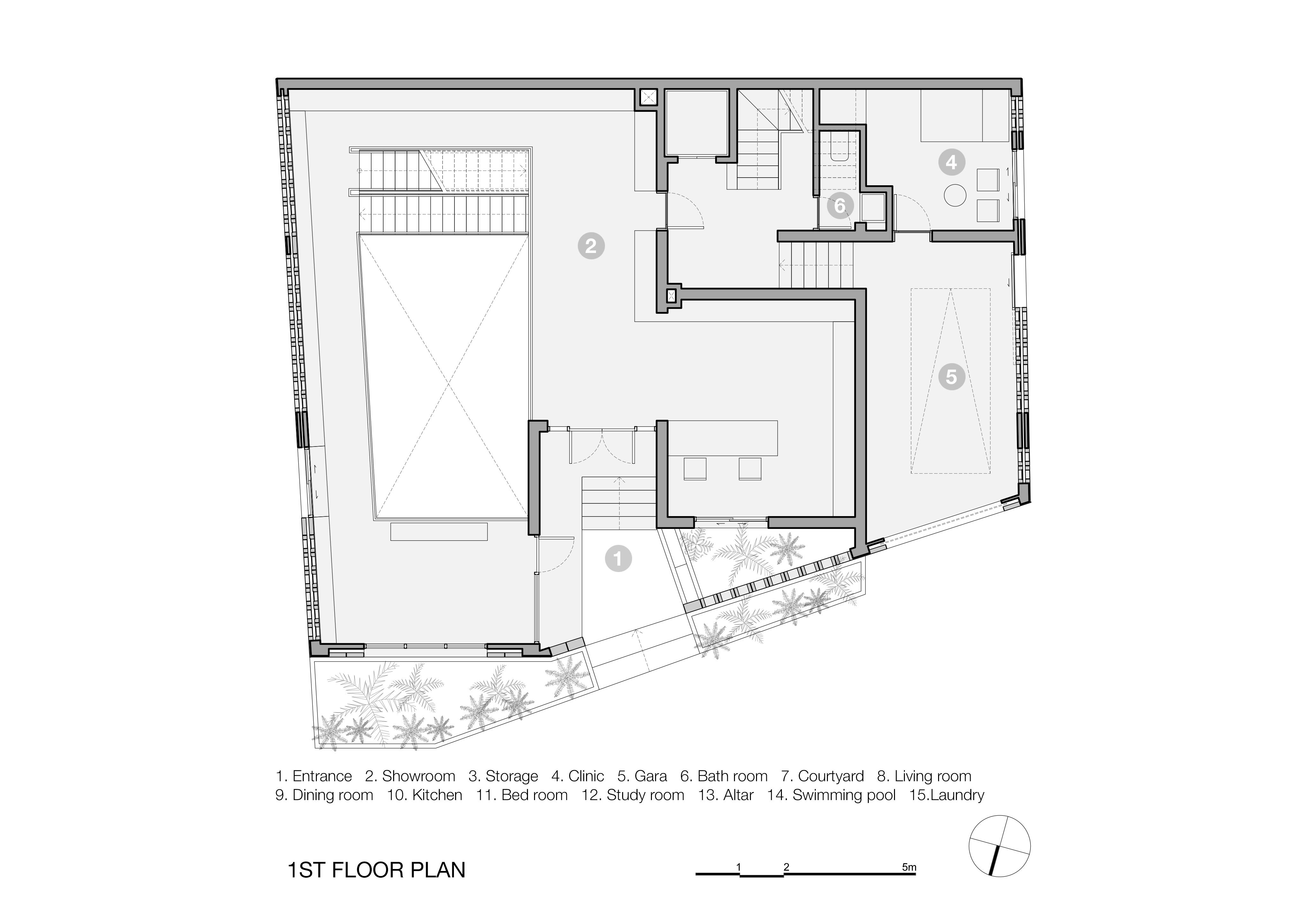 Battrang House3 - Bát Tràng House / thiết kế: VTN Architects