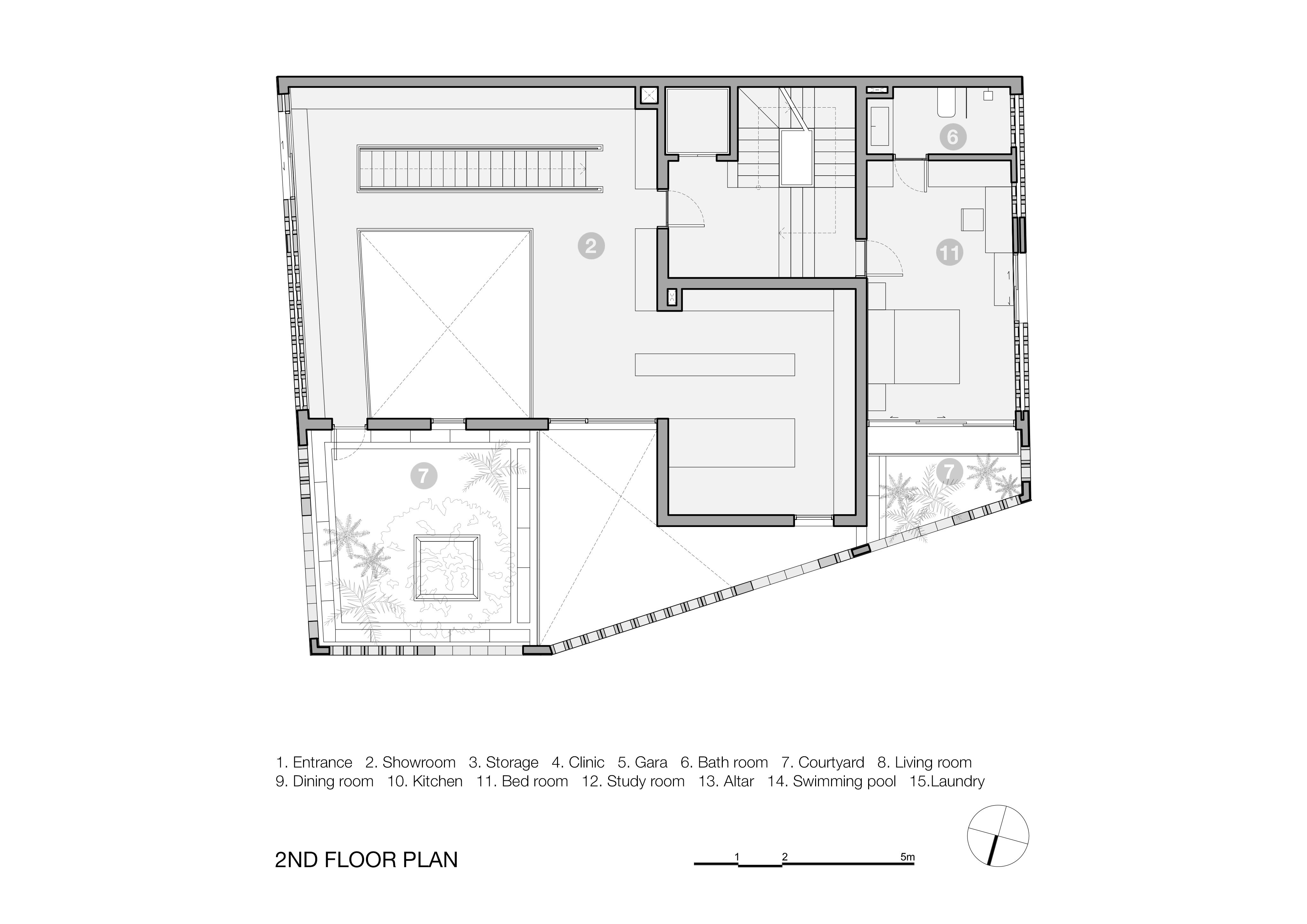 Battrang House4 - Bát Tràng House / thiết kế: VTN Architects
