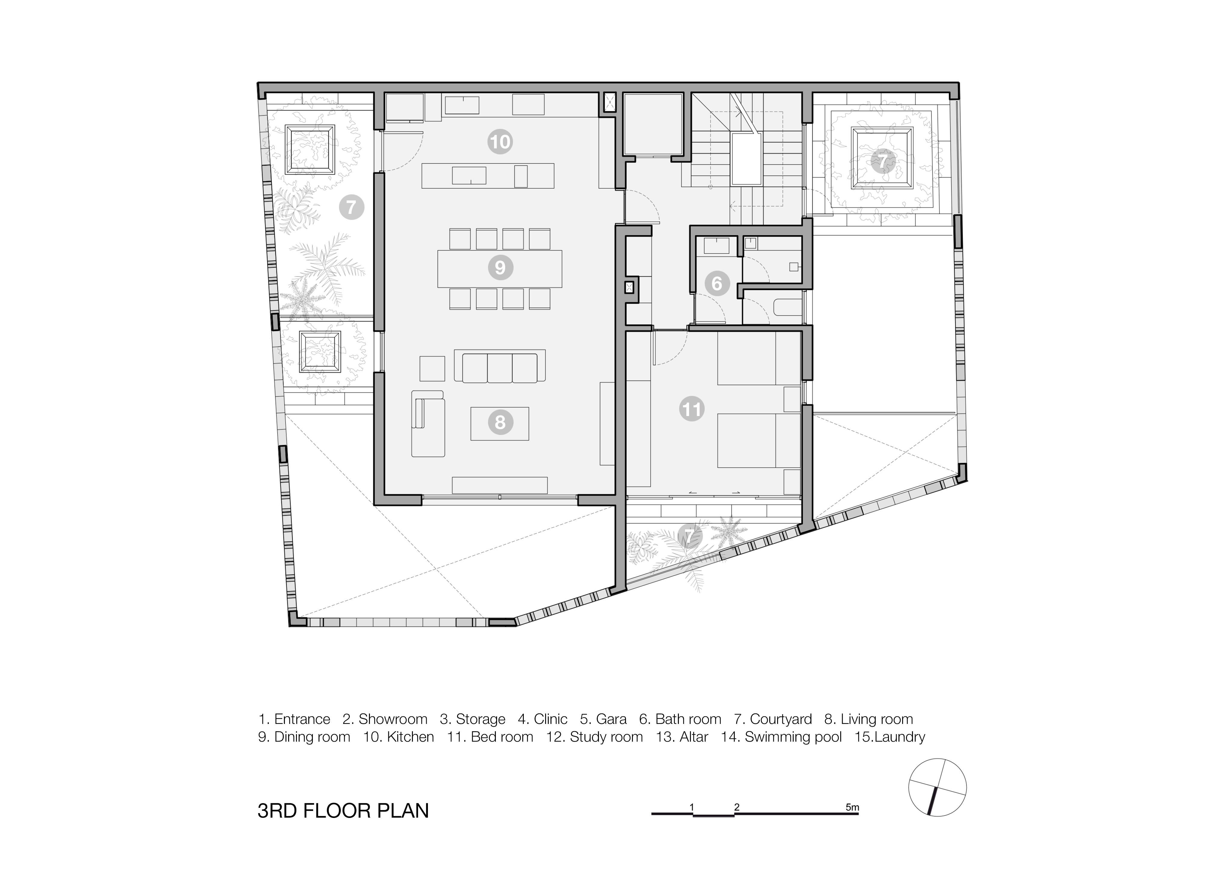Battrang House5 - Bát Tràng House / thiết kế: VTN Architects