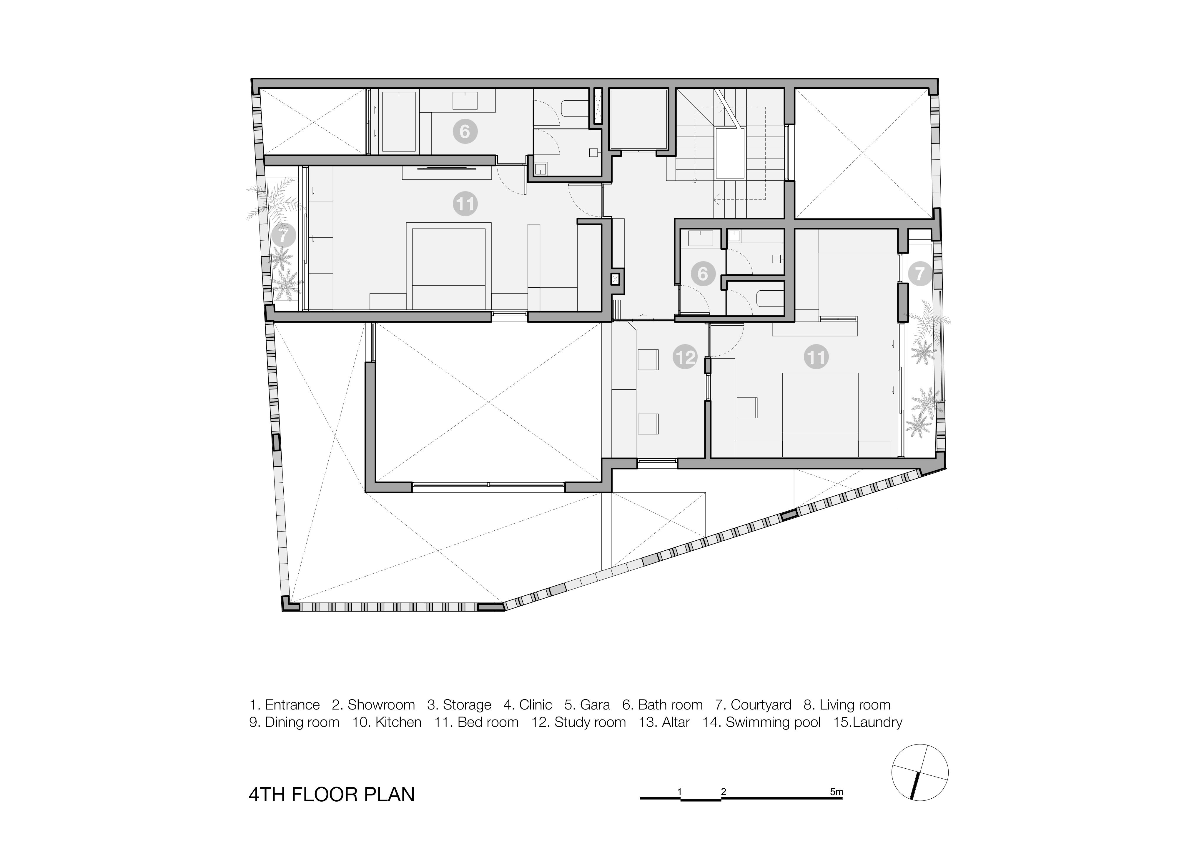 Battrang House6 - Bát Tràng House / thiết kế: VTN Architects