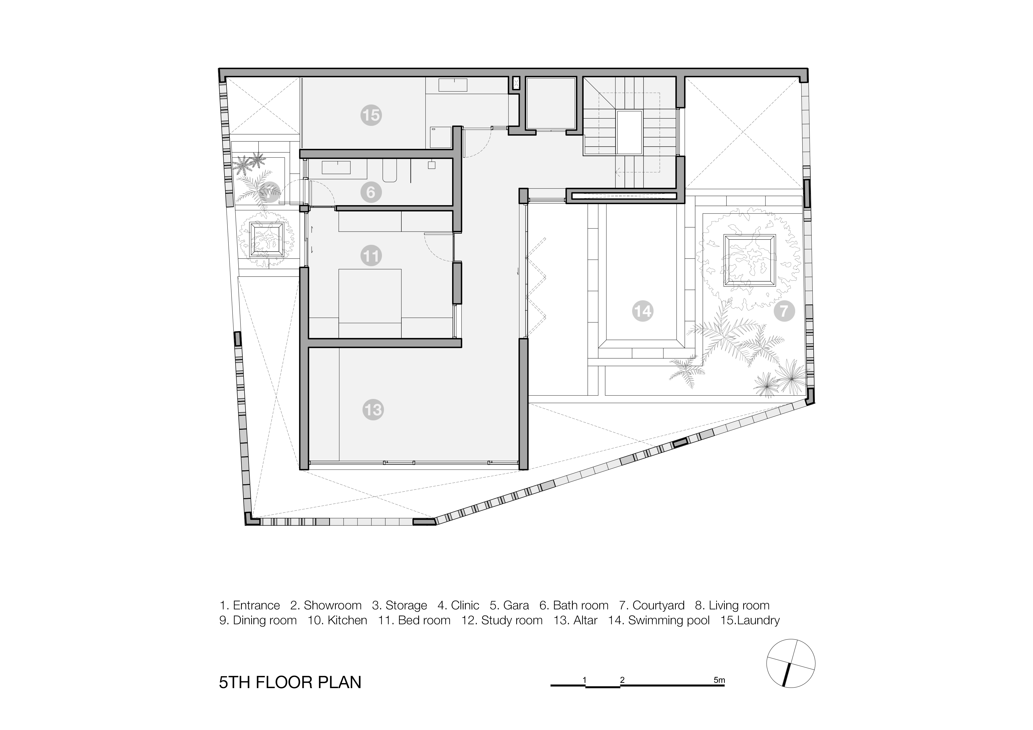 Battrang House7 - Bát Tràng House / thiết kế: VTN Architects