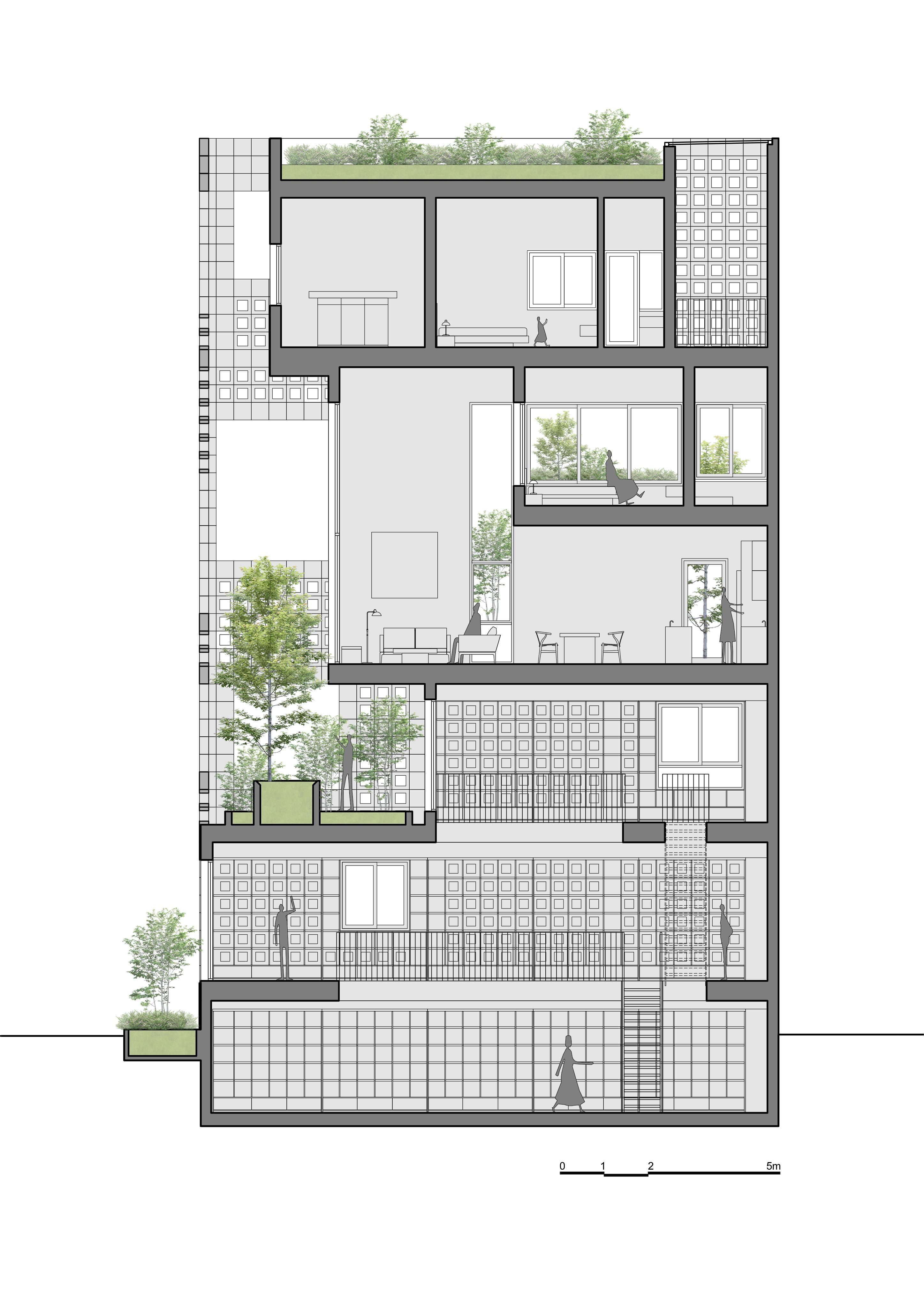 Battrang House9a - Bát Tràng House / thiết kế: VTN Architects